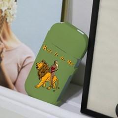 iqos 아이코스 풀커버케이스- RIDING A LION(YOYO)