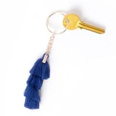 [도이] 태슬 열쇠고리 자동차 키링 키홀더 블루_(1502541)