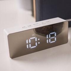 오리엔트 OT1591W 미러스틱 LED 디지털시계 어댑터포함 OT1591