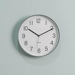 카파 IP250 그레이 슬림프레임 심플 무소음 인테리어벽시계