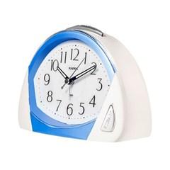 카파 T851 블루 무소음 6가지랜덤알람 탁상시계