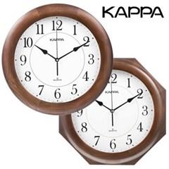 카파 W630 무소음 원목 인테리어벽시계 국내산