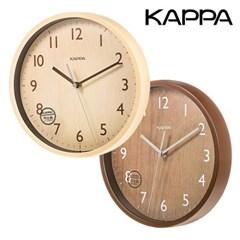 카파 IP213 무소음 우드패턴 인테리어벽시계 2종 택1
