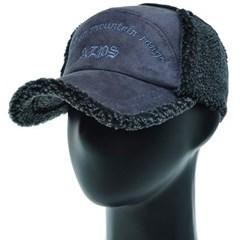 [더그레이]OJO05.남성 인조 무스탕 귀달이 등산 모자