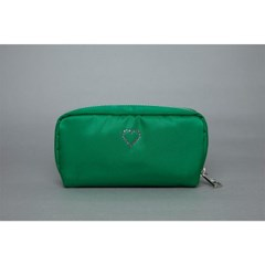 crystal pouch(green)