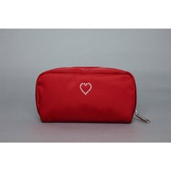 crystal pouch(red)