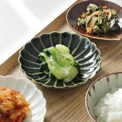일본 카사노하(kasanoha) 웨이브접시 4color