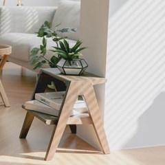 대나무 스텝스툴 Bamboo A-Shaped Stepstool_(618305)