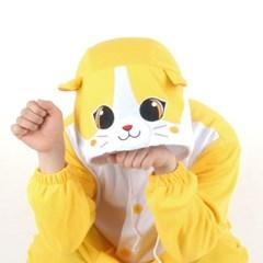 사계절 동물잠옷 큐티 고양이 (옐로우)
