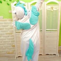 사계절 동물잠옷 유니콘 (블루)