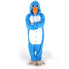 사계절 동물잠옷 오리너구리 (블루)