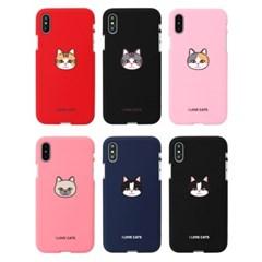 [TryCozy]고양이얼굴 소프트 케이스(LG폰)