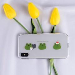 개구리 TPU 실리콘케이스 아이폰XS