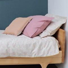 카모마일런던 솔리드 베개커버 50x75cm - blush