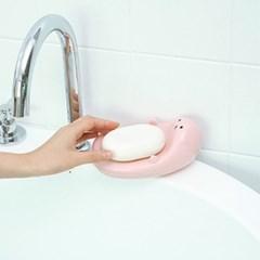 [갓샵 귀여워서기절! 수달 비누받침대 3color] 욕실비누거치홀더