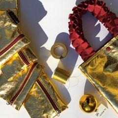 Gold Accordion pouch (골드아코디언 방수 파우치)