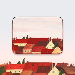 유럽의 지붕들 (13/15인치) 노트북파우치