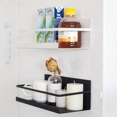 [갓샵 마그네틱자석 선반 부착형] 냉장고옆 수납 사이드거치대
