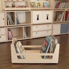 Blokk Book Cart