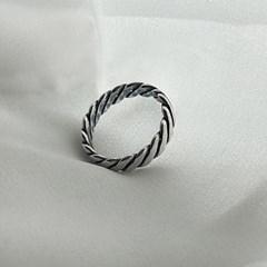 [유화] 925 silver ring'thzi'