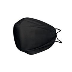 하이가드 황사마스크 성인용 블랙 1매입 KF80
