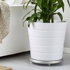 이케아 SOCKER 화분 이동받침대 Plant mover/원예/식물/바퀴
