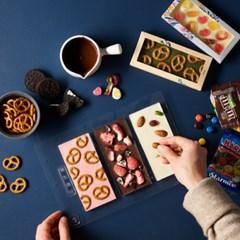 피나포레 발렌타인 바크 초콜릿 만들기 DIY 홈베이킹