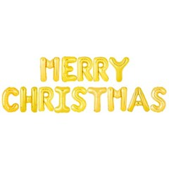 은박풍선세트 MERRY CHRISTMAS 골드_(11628936)