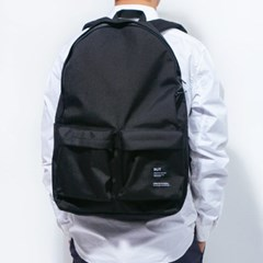 2PK NYLON BACKPACK-BLACK