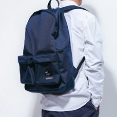 2PK NYLON BACKPACK-NAVY