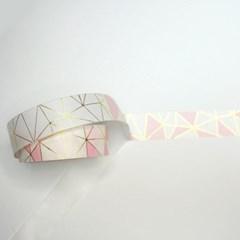 핑크 골드 마스킹 테이프_(1102494)