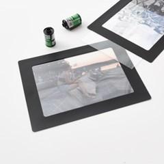 6x8 사진액자  PET 10매 - 액자유리 대용 투명 보호 필름 0.5T