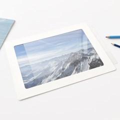 A4 사진액자  PET 5매 - 액자유리 대용 투명 보호 필름 0.5T