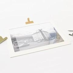 A3 사진액자  PET 5매 - 액자유리 대용 투명 보호 필름 0.5T