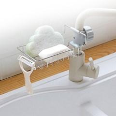 [갓샵 스텐 수전 수세미 거치대]싱크대걸이홀더 욕실선반받침대
