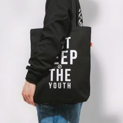 THE YOUTH ECO BAG-BLACK