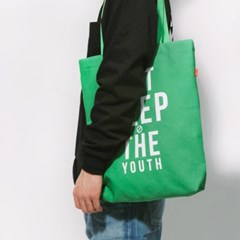 THE YOUTH ECO BAG-GREEN