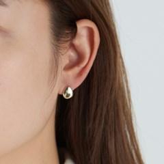 [925실버] 물방울 볼 귀걸이