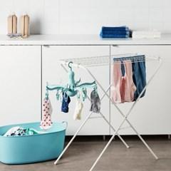 이케아 PRESSA 문어발 빨래건조대/집게형건조대/세탁용품