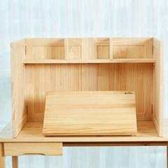 각도조절 보조책상 600+집중력가림판 소나무 세트