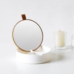 [스크래치] 거울달린 액세서리 정리함 (3종 택1)