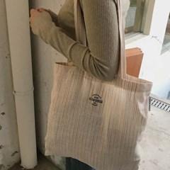 Linen natural brown bag ( hand made )