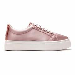 Satin sneakers (W)_Pink