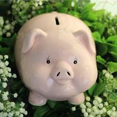 빅사이즈 파스텔 돼지 저금통 3color