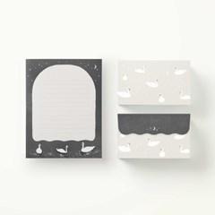 Letter Paper - Swan