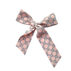 링크 패턴 쁘띠 트윌리 스카프 (2 colors)