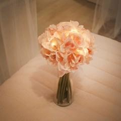 피치 벚꽃 부케 LED 무드등