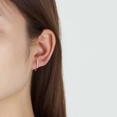큐빅 이어커프 귀걸이