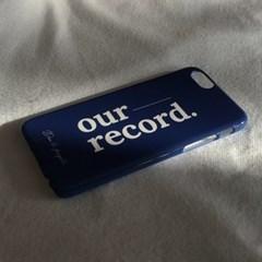 아우어 레코드 휴대폰케이스
