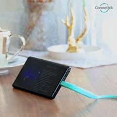 [커네틱] 스탠드 고속충전 케이블 스마트폰 거치가능 8핀 C타입